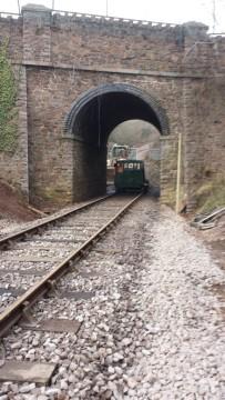 Mountsorrel station track completed to Bond Lane bridge