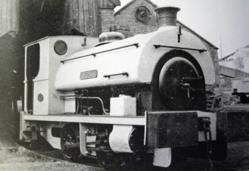 Elizabeth, one of the last engines to work the line.