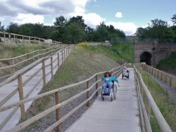 Ramp access to Mountsorrel Station
