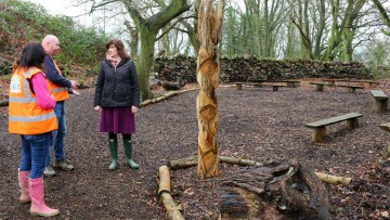 Nicky Morgan ECO Classroom