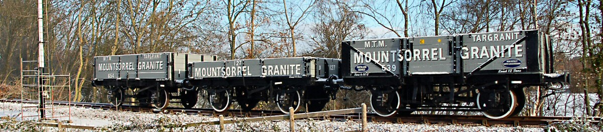 Mountsorrel Granite wagon