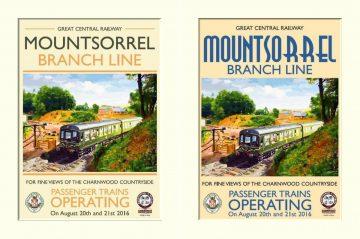 Mountsorrel running day poster