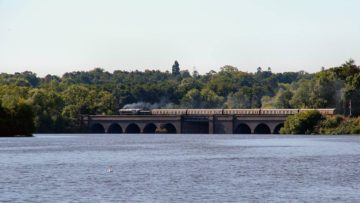 Swithland Reservoir Trains