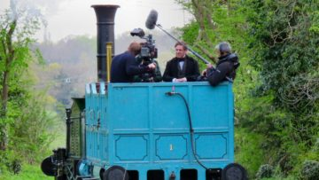 Filming Victoria - Sir Robert Peel