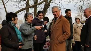 Prince Charles meets the Eco Volunteers