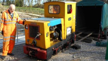Ruston narrow gauge diesel
