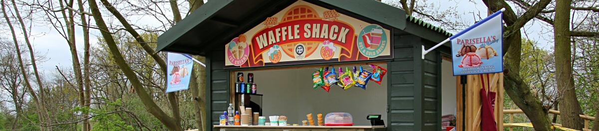 Waffle Shack banner