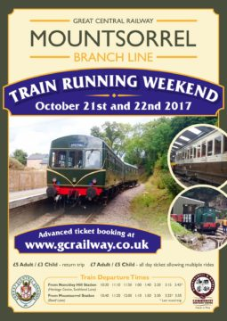 Train Running Poster Oct 2017