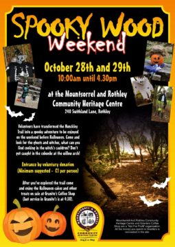 Spooky wood Halloween weekend 2017