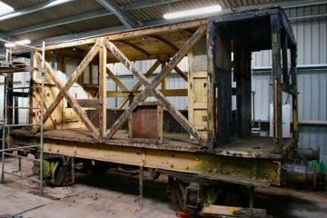 Brake Van awaiting restoration