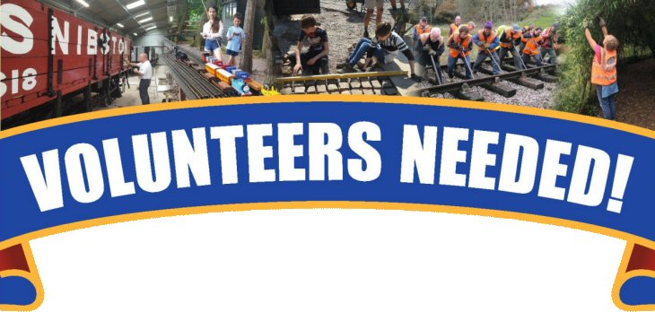 volunteer needed banner