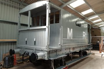 Brake Van with lettering