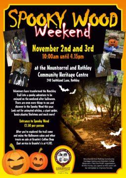Halloween Spooky Wood 2019