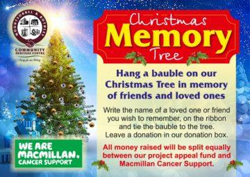 Poster Christmas memory tree