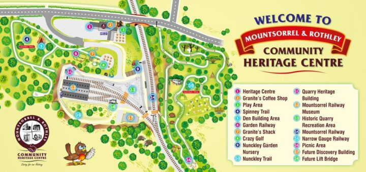 Heritage Centre site map 2020